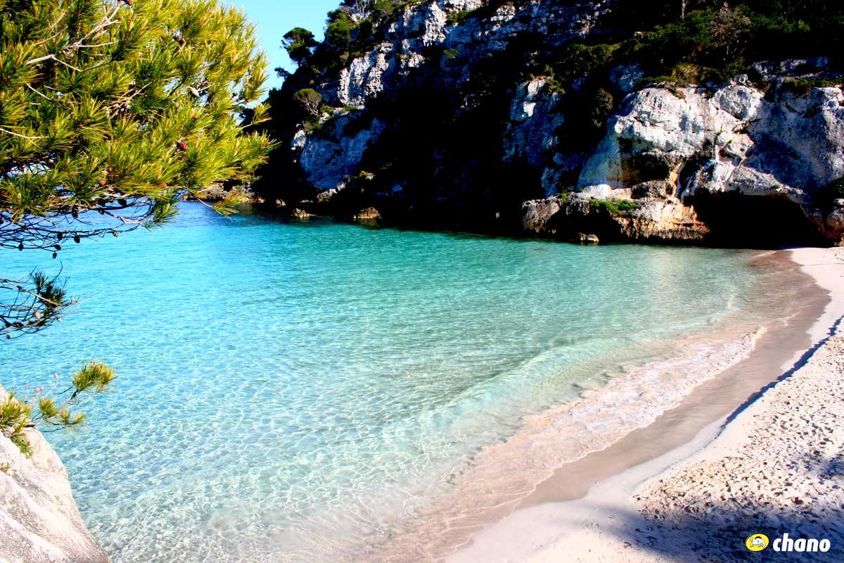 playas del sur de Menorca, South beaches of Menorca