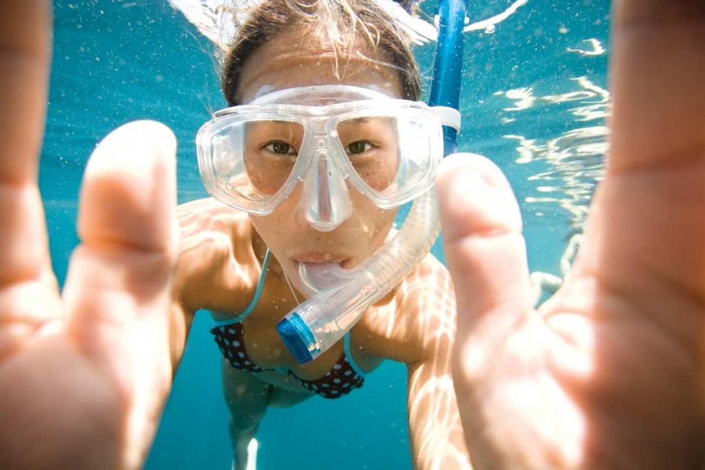 snorkel en Menorca, Snorkel in Menorca