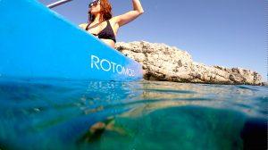kayak en Menorca, Kayak in Menorca