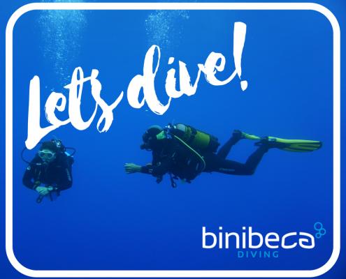 curso de buceo en menorca: open water diver