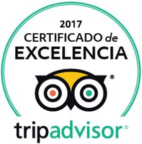 buceo menorca opiniones, certificado de excelencia Tripadvisor