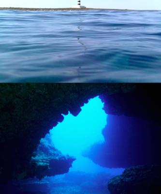 buceo en isla aire menorca