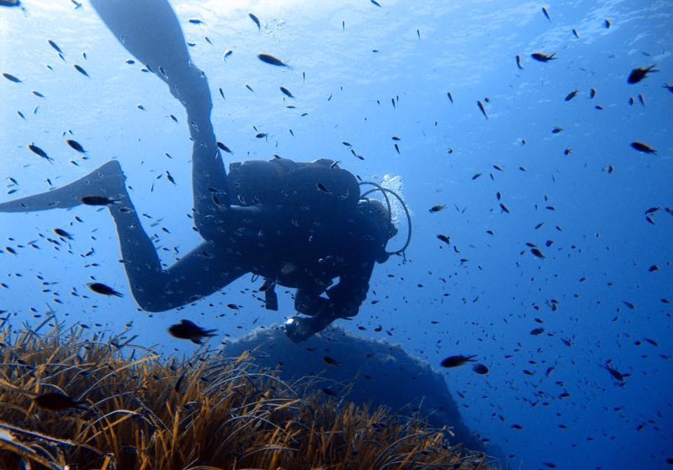 discover scuba diving en menorca