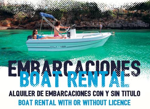 Novedades En Binibeca Alquiler De Barcas Sin Titulación En Menorca