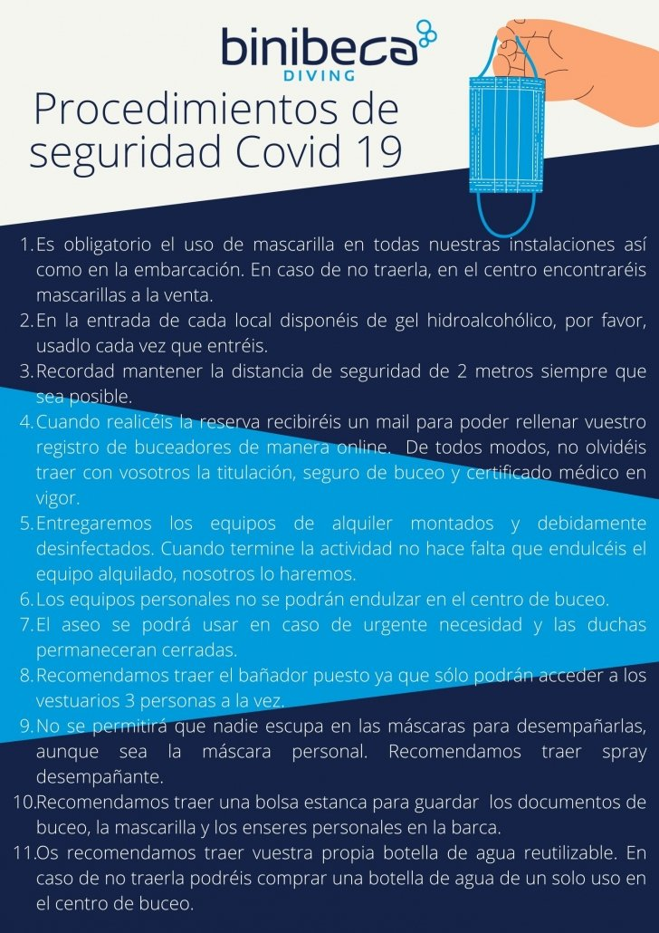 buceo y covid 19