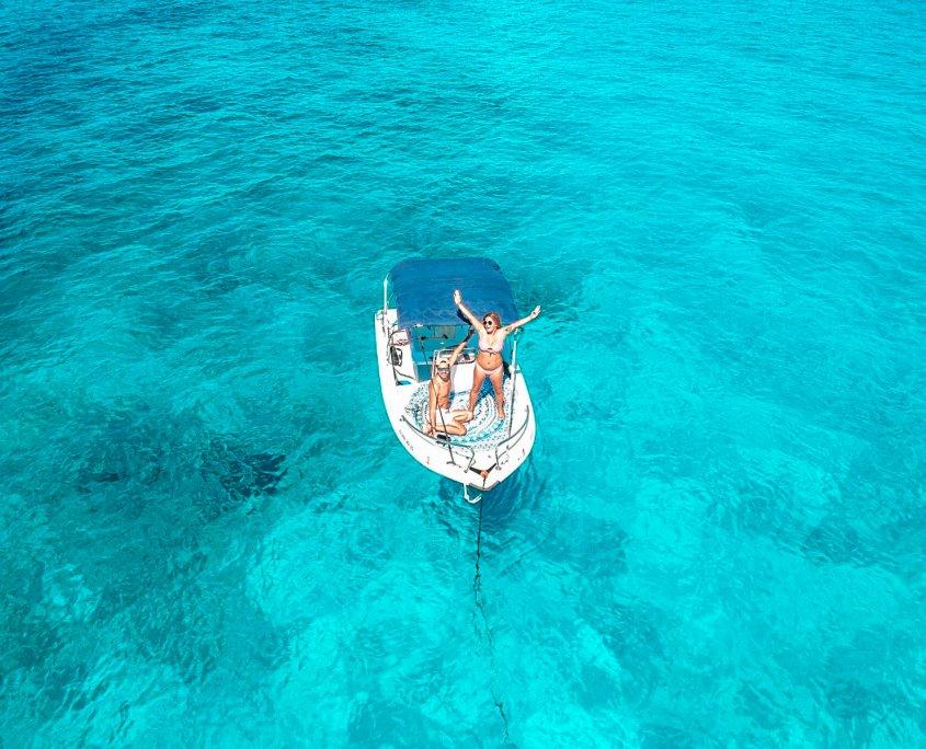 alquiler barca sin titulacion menorca